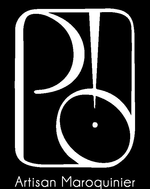 logo_po_maroquinier_blanc_texte
